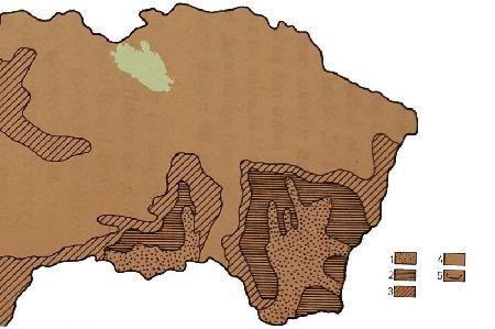 Rozšírenie vegetácie v starom dryase